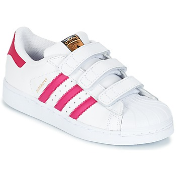 Scarpe Bambina Sneakers basse adidas Originals SUPERSTAR FOUNDATIO Bianco