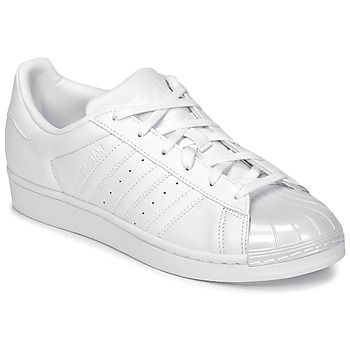 Scarpe Donna Sneakers basse adidas Originals SUPERSTAR GLOSSY TO Bianco