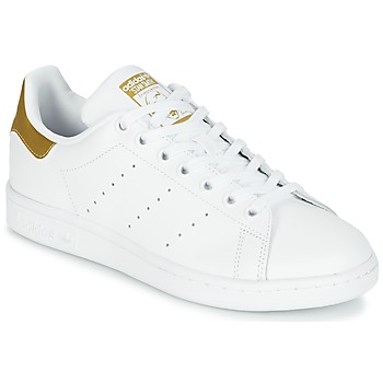 Scarpe Bambino Sneakers basse adidas Originals STAN SMITH J Bianco