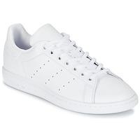 Scarpe Unisex bambino Sneakers basse adidas Originals STAN SMITH J Bianco