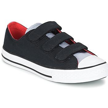 Scarpe Bambino Sneakers basse Converse CHUCK TAYLOR ALL STAR 3V SPRING FUNDAMENTALS OX Nero / Blu / Bianco