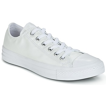 Scarpe Donna Sneakers basse Converse CHUCK TAYLOR ALL STAR SEASONAL METALLICS OX Bianco / Metallic