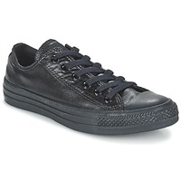 Scarpe Donna Sneakers basse Converse CHUCK TAYLOR ALL STAR SEASONAL METALLICS OX Nero