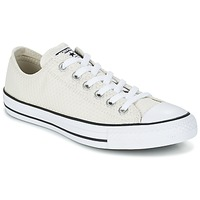 Scarpe Donna Sneakers basse Converse CHUCK TAYLOR ALL STAR SNAKE WOVEN OX ECRU