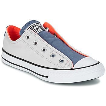 Scarpe Bambino Sneakers basse Converse CHUCK TAYLOR ALL STAR SLIP SUMMER FUNDAMENTALS SLIP Grigio / Blu / Arancio