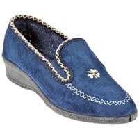 Scarpe Donna Mocassini Davema 455 C Ciabatte blu