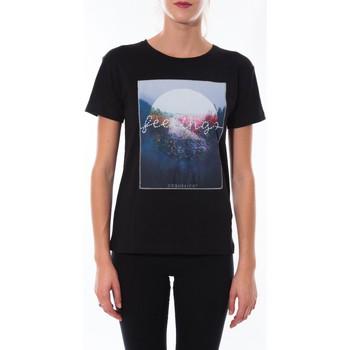 Abbigliamento Donna T-shirt maniche corte Coquelicot T-shirt  Noir 16423 Nero