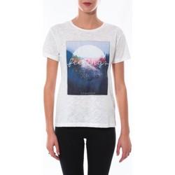 Abbigliamento Donna T-shirt maniche corte Coquelicot T-shirt  Blanc 16423 Bianco