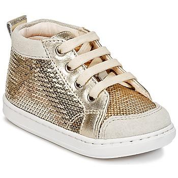 Scarpe Bambina Sneakers alte Shoo Pom BOUBA NEW COVER Oro