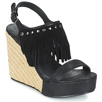 Scarpe Donna Sandali LPB Shoes SABINE Nero