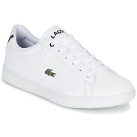 Scarpe Unisex bambino Sneakers basse Lacoste CARNABY EVO BL 1 Bianco