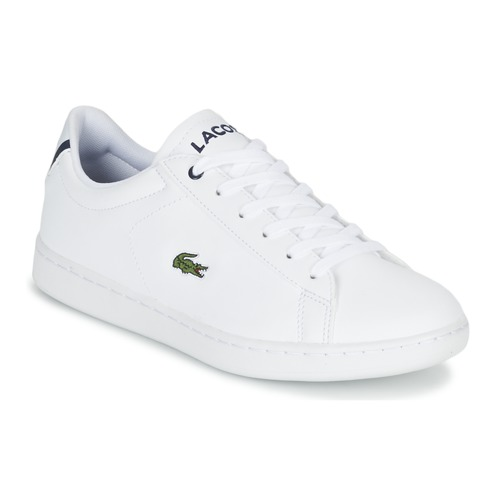 Scarpe Unisex bambino Sneakers basse Lacoste CARNABY EVO BL 1 Bianco