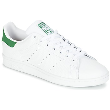 Scarpe Sneakers basse adidas Originals STAN SMITH Bianco / Verde