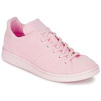 Scarpe Donna Sneakers basse adidas Originals STAN SMITH PK Rosa