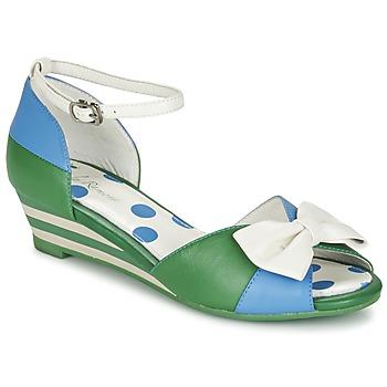 Scarpe Donna Sandali Lola Ramona LENNIE Blu / Verde