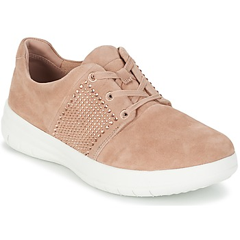 Scarpe Donna Sneakers basse FitFlop SPORTY-POP X CRYSTAL Rosa