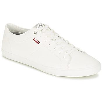 Scarpe Uomo Sneakers basse Levi's WOODS Bianco