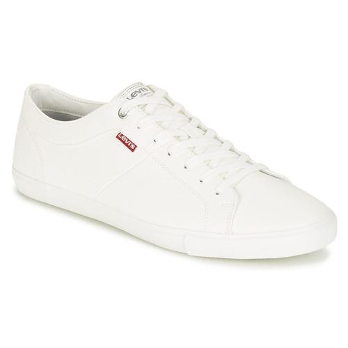 Levi's WOODS Bianco  Scarpe Sneakers basse Uomo 48