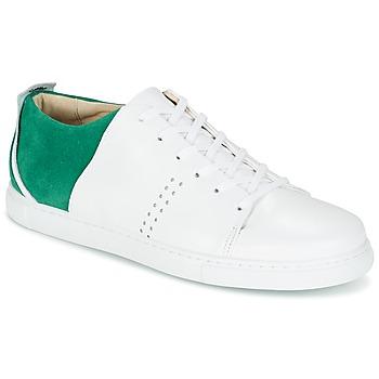 Scarpe Uomo Sneakers basse M. Moustache RENE Bianco / Verde