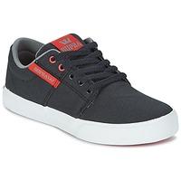 Scarpe Bambino Sneakers basse Supra KIDS STACKS II VULC Nero / Rosso