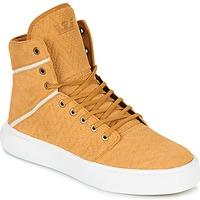 Scarpe Uomo Sneakers alte Supra CAMINO Giallo