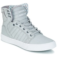 Scarpe Sneakers alte Supra SKYTOP Grigio