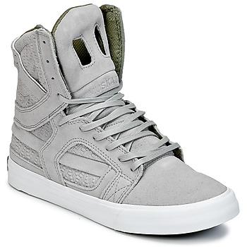 Scarpe Sneakers alte Supra SKYTOP II Grigio