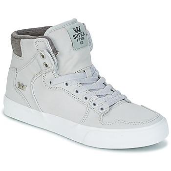 Scarpe Sneakers alte Supra VAIDER Grigio