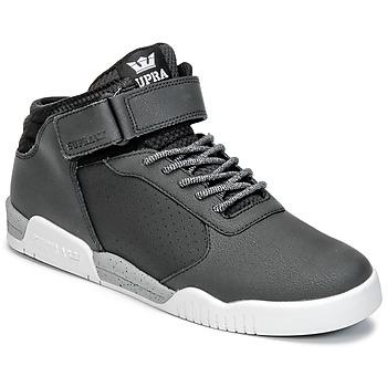 Scarpe Uomo Sneakers alte Supra ELLINGTON STRAP Nero