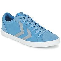 Scarpe Sneakers basse Hummel DEUCE COURT SUMMER Blu / Grigio