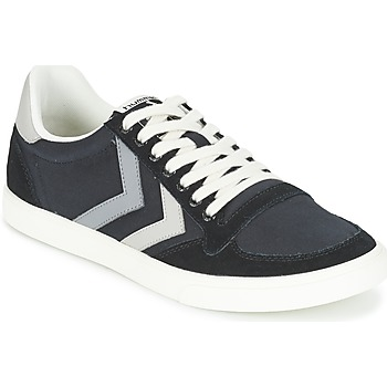 Scarpe Sneakers basse Hummel TEN STAR DUO CANVAS LOW Nero / Grigio