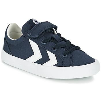 Scarpe Bambino Sneakers basse Hummel DEUCE COURT JR Blu