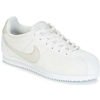 Scarpe Bambina Sneakers basse Nike CORTEZ LEATHER SE JUNIOR Beige