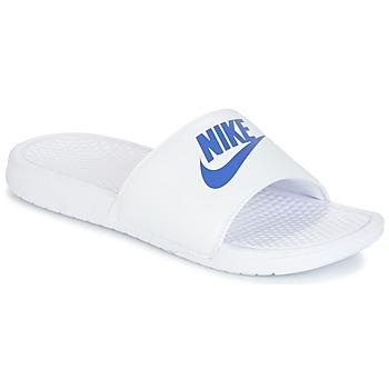 Scarpe Uomo Ciabatte Nike BENASSI JUST DO IT Bianco / Blu
