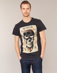 Abbigliamento Uomo T-shirt maniche corte Deeluxe CLEM Grigio / Beige