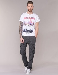 Abbigliamento Uomo Pantalone Cargo Deeluxe TROPERY Grigio