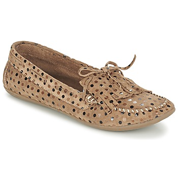 Scarpe Donna Mocassini Ippon Vintage MOC POINTS TAUPE