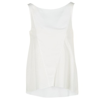 Abbigliamento Donna Top / T-shirt senza maniche Desigual ROMINESSA Bianco