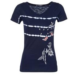 Abbigliamento Donna T-shirt maniche corte Desigual TIDEREA MARINE