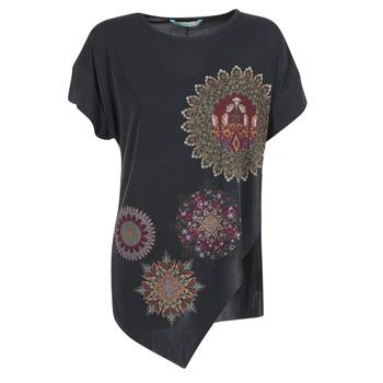 Abbigliamento Donna Tuniche Desigual GRIZULLO Nero