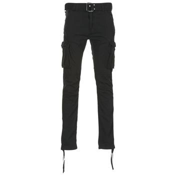 Abbigliamento Uomo Pantalone Cargo Schott TR RANGER 70 Nero