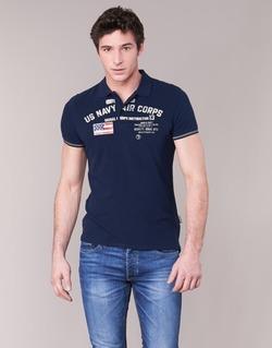 Abbigliamento Uomo Polo maniche corte Schott ALEC MARINE