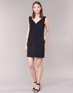 Abbigliamento Donna Abiti corti See U Soon 7121047 Nero