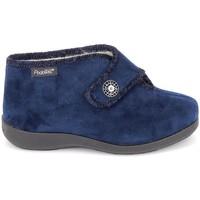Scarpe Donna Pantofole Fargeot Caliope marine Blu