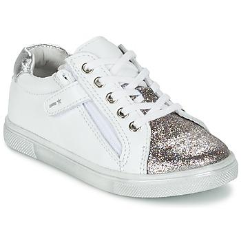 Scarpe Bambino Sneakers basse Babybotte KRAZY Bianco / Argento