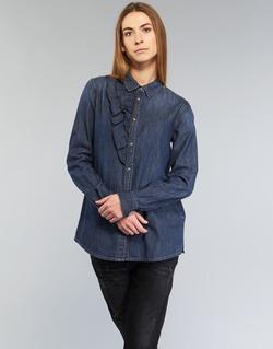 Abbigliamento Donna Camicie Diesel DE KELLY Blu