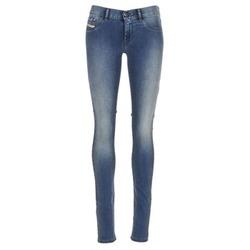 Abbigliamento Donna Jeans slim Diesel LIVIER Blu