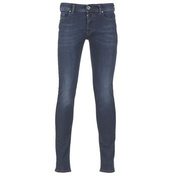 Abbigliamento Uomo Jeans slim Diesel SLEENKER Blu