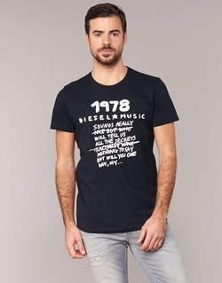 Abbigliamento Uomo T-shirt maniche corte Diesel T DIEGO NB Nero