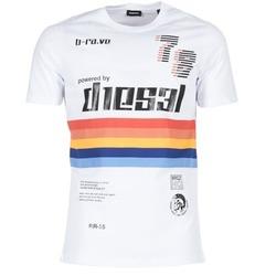 Abbigliamento Uomo T-shirt maniche corte Diesel T JOE OB Bianco